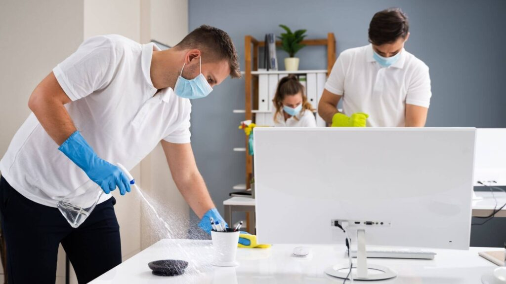 office cleaning auckland commercial service ecocrew